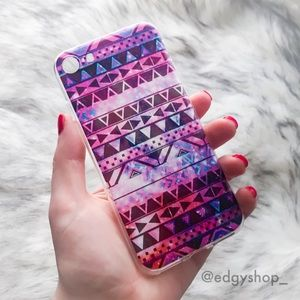 THE EDGY SHOP Accessories - Tribal Galaxy iPhone Case